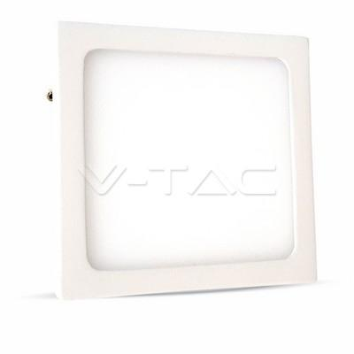 MINI PANNEL LED SUPERFICIALE 6W BIANCO QUADRATO VT-605SQ