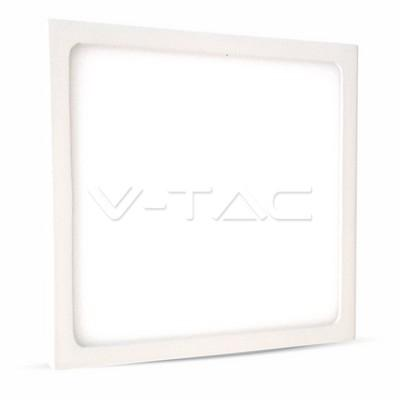 MINI PANNEL LED SUPERFICIALE 18W BIANCO QUADRATO VT-1805SQ